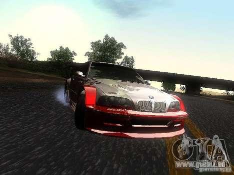 BMW M3 GTR1 pour GTA San Andreas