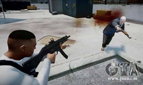 MP5 (CoD: Modern Warfare 3) für GTA 4 dritte Screenshot
