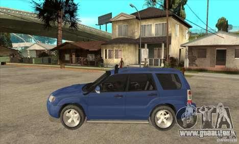 Subaru Forester 2005 für GTA San Andreas linke Ansicht
