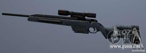 Steyr Scout pour GTA San Andreas troisième écran