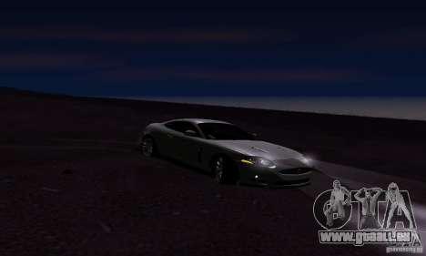 Jaguar XKRS für GTA San Andreas rechten Ansicht