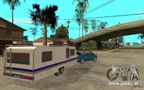 Trailer für den Renault Avantime für GTA San Andreas rechten Ansicht