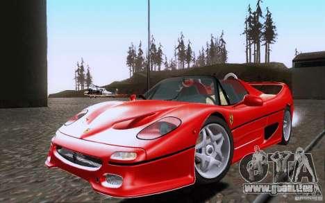 Ferrari F50 v1.0.0 1995 pour GTA San Andreas