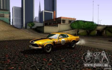 Ford Mustang Boss 302 für GTA San Andreas