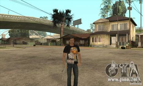 remplacement de peau 3 Cj pour GTA San Andreas quatrième écran