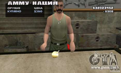 The Holy Grenade für GTA San Andreas zweiten Screenshot