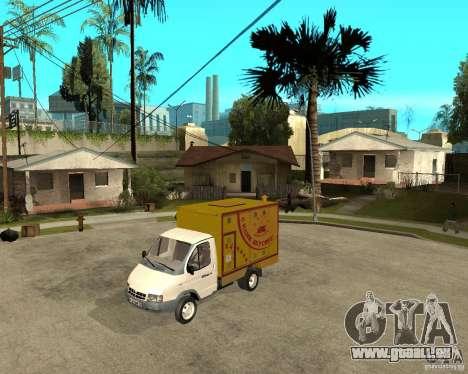 Grill Gaz-3302 Gazelle pour GTA San Andreas
