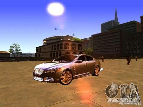 Jaguar XFR 2011 für GTA San Andreas