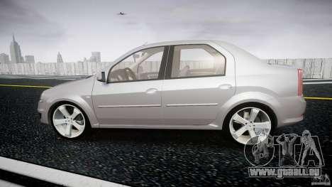 Renault Logan für GTA 4 linke Ansicht
