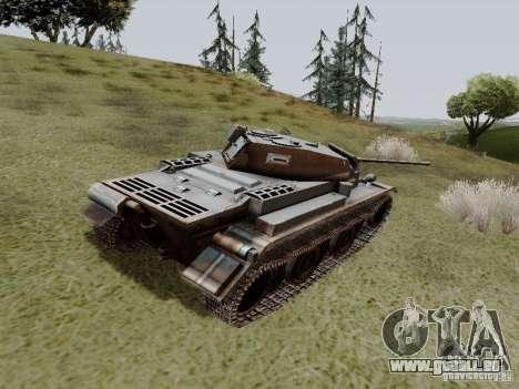 PzKpfw II Ausf.B pour GTA San Andreas sur la vue arrière gauche
