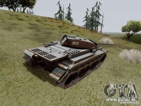 PzKpfw II Ausf.B für GTA San Andreas zurück linke Ansicht