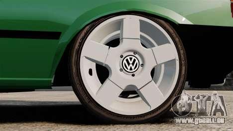 Volkswagen Gol GL 1992 Edit pour GTA 4 Vue arrière