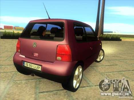 Volkswagen Lupo pour GTA San Andreas vue de droite