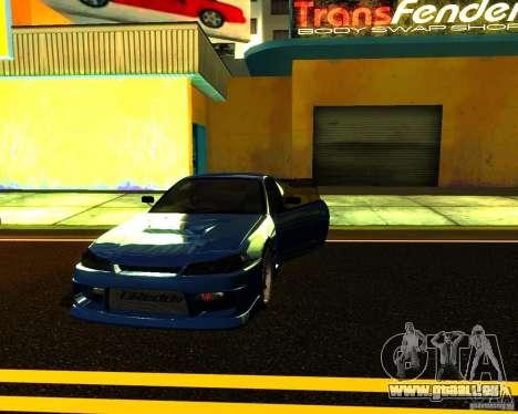 Nissan Silvia C-West pour GTA San Andreas vue de côté