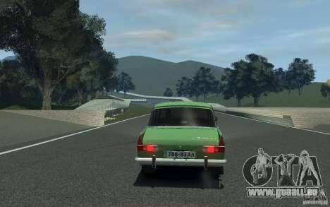 Moskvitch 412 pour GTA 4 Vue arrière de la gauche