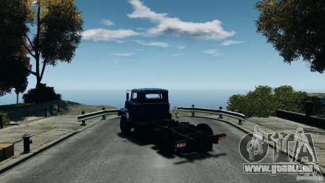 KrAZ-5133 für GTA 4 rechte Ansicht