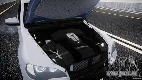 BMW X5 Experience Version 2009 Wheels 214 für GTA 4 Rückansicht