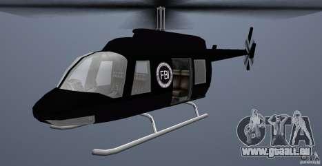 FBI Maverick für GTA Vice City linke Ansicht