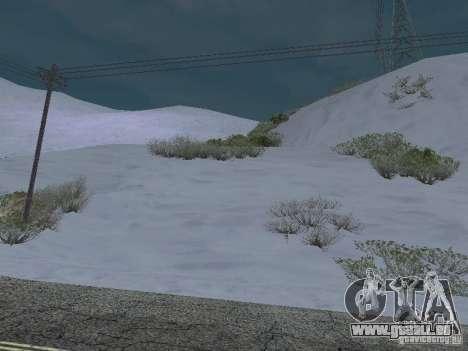 Frozen bone country für GTA San Andreas dritten Screenshot