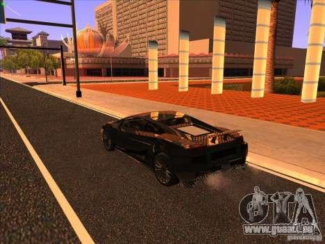 Lamborghini Gallardo Underground Racing pour GTA San Andreas vue de droite