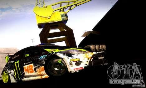 Ford Fiesta Gymkhana 5 pour GTA San Andreas vue intérieure