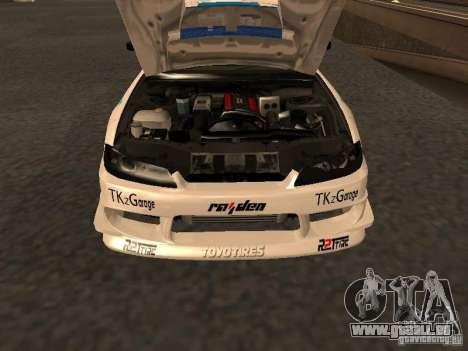 Nissan s15 Performa Drift pour GTA San Andreas vue de droite