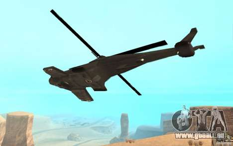 Scout Drone from BO2 für GTA San Andreas linke Ansicht