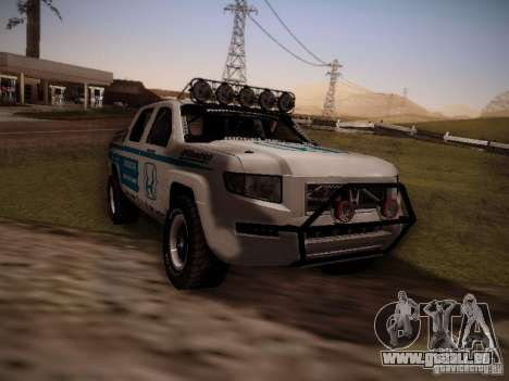 Honda Ridgeline Baja White pour GTA San Andreas