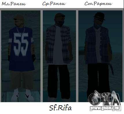 Peaux de Los Surenos 13 pour GTA San Andreas