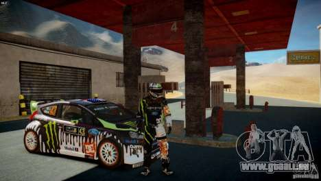 Ken Block Gymkhana 5 Clothes (Unofficial DC) für GTA 4 dritte Screenshot