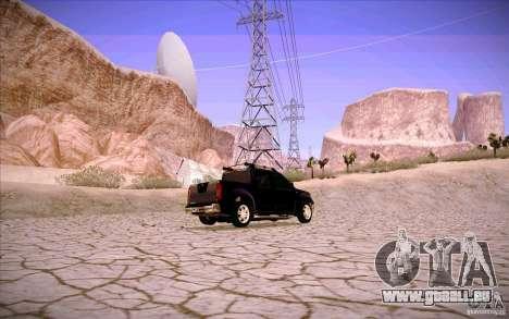 Nissan Fronter pour GTA San Andreas moteur