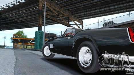 Ferrari 250 California 1957 pour GTA 4 Vue arrière de la gauche