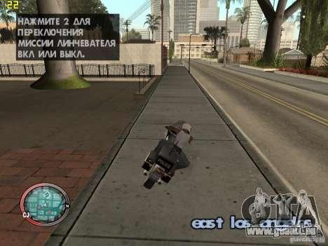 Outre le HUD de GTA IV pour GTA San Andreas troisième écran