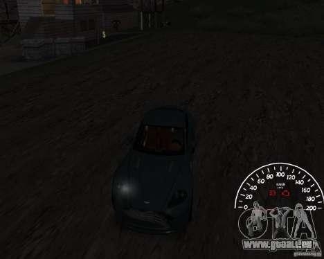 Tachometer 1.0 für GTA San Andreas zweiten Screenshot