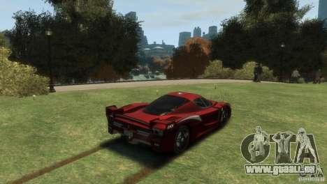 Ferrari FXX Evoluzione pour GTA 4 est une gauche
