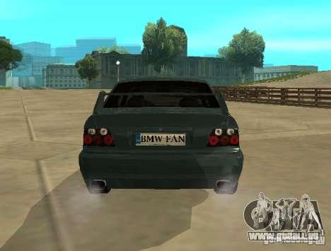 BMW E36 Coupe pour GTA San Andreas vue de droite