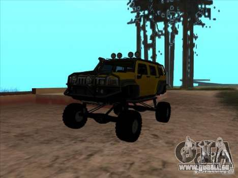 Hummer H3 Trial pour GTA San Andreas