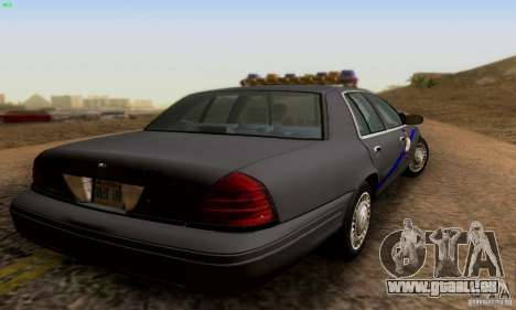 Ford Crown Victoria Kentucky Police für GTA San Andreas linke Ansicht