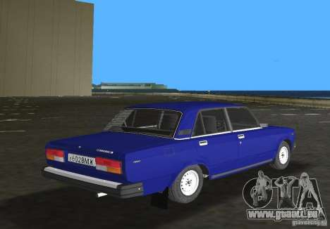 VAZ 2107 LADA Auto für GTA Vice City rechten Ansicht