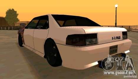 New Sultan v1.5 pour GTA San Andreas vue de droite