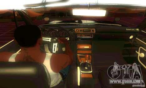 Nissan Skyline 2000-GTR pour GTA San Andreas vue arrière