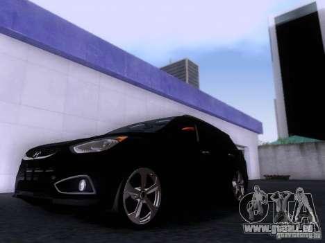 Hyundai ix35 pour GTA San Andreas laissé vue