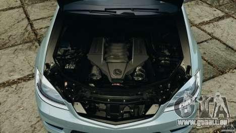 Mercedes-Benz S65 AMG 2012 v1.0 für GTA 4 Unteransicht