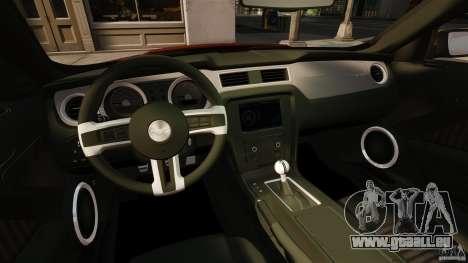 Ford Mustang GT 2011 für GTA 4 Rückansicht