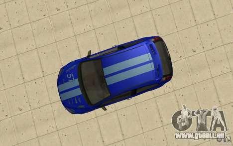 Ford Focus-Grip für GTA San Andreas rechten Ansicht