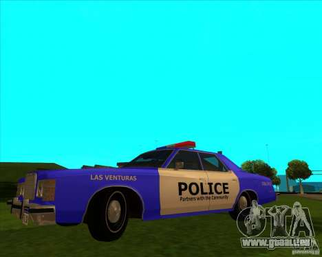 Ford Custom 500 4 door police 1975 pour GTA San Andreas