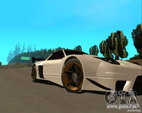 Acura NSX Sumiyaka pour GTA San Andreas laissé vue