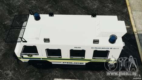 RG-12 Nyala - South African Police Service für GTA 4 rechte Ansicht