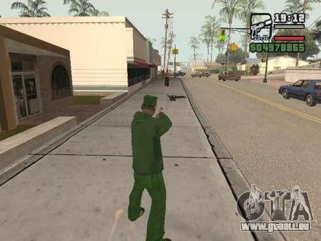 Ragdoll + Endorphin mod v1.0 pour GTA San Andreas troisième écran