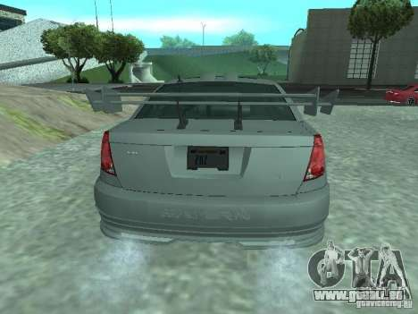 Saturn Ion Quad Coupe 2004 pour GTA San Andreas